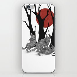 Four Arms - Wolf & Pups iPhone Skin