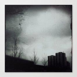 Rain that falls for weeks Canvas Print