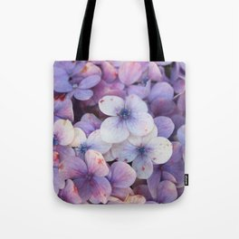 Blossom Purple Tote Bag
