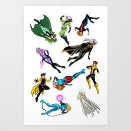 X chics Art Print