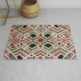 N58 - Traditional African Berber Moroccan Antique Style Artwork Rug