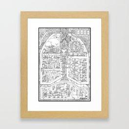 LUN & Gs Co. Framed Art Print