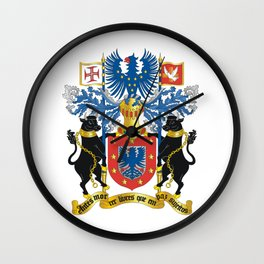 Azorean Coat of Arms Wall Clock