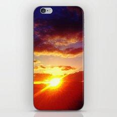 Scottish Sunset iPhone & iPod Skin