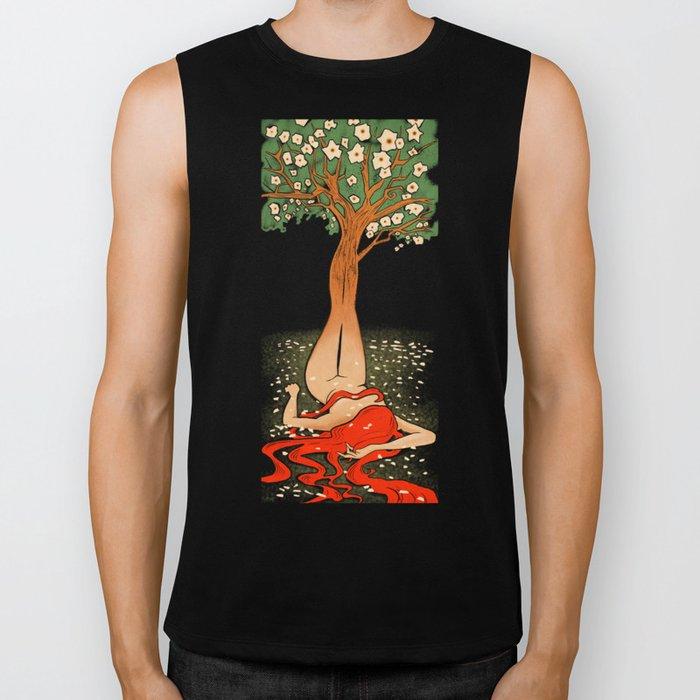 Spirit Of The Trees Biker Tank