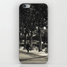 Night and lights iPhone & iPod Skin