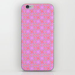 Pastel Broken Diamond Swirl Pattern iPhone Skin
