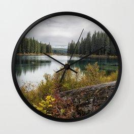 Clear Lake, Fall 2018, No. 3 Wall Clock