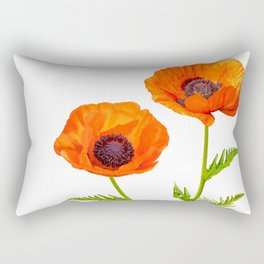 Two beautiful  poppies Rectangular Pillow
