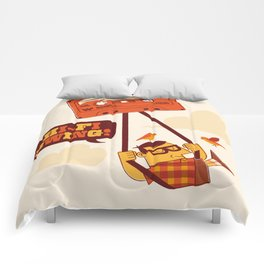 The tapecist Comforters