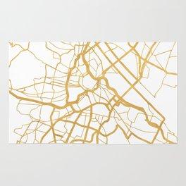 VIENNA AUSTRIA CITY STREET MAP ART Rug