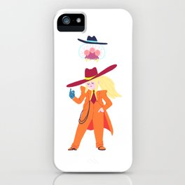 Zoot Suit Samus iPhone Case