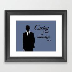 Mycroft's Advantage Framed Art Print
