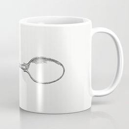 Silver spoon from Half Hours of English History (1851) Coffee Mug