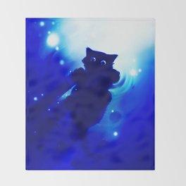 cute cat Throw Blanket