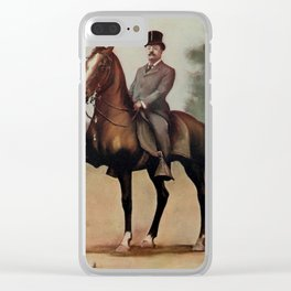 Campbell, V. Floyd (d.1906) - Theodore Roosevelt (1858-1919), president 1901-1909 Clear iPhone Case