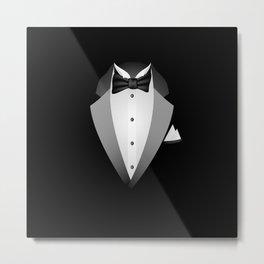 Tuxedo Metal Print