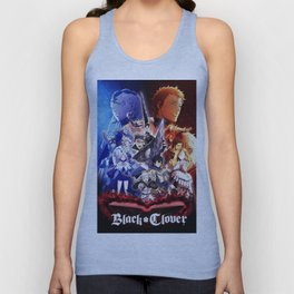 Black Clover All Character Unisex Tank Top