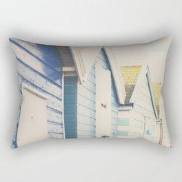 all the beach huts  Rectangular Pillow