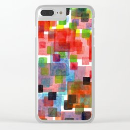 Walking down or Walking up Clear iPhone Case