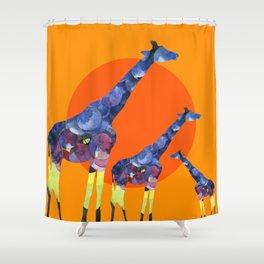 Giraffe design Shower Curtain