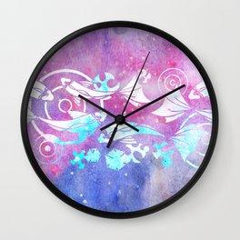 Galactic Goldfish Wall Clock