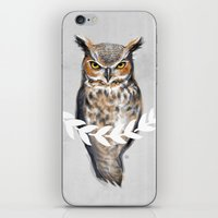david fleck iPhone & iPod Skins featuring DAVID by Saga-Mariah