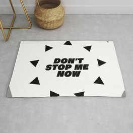 Don't stop me now - Queen lover Rug