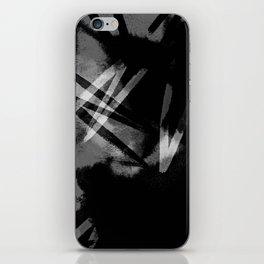 Noir iPhone Skin