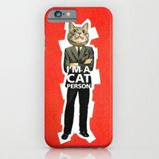 Cat Person Slim Case iPhone 6s