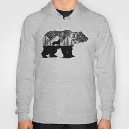 THE BEAR AND THE WOLF Hoody