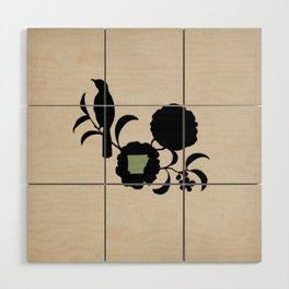 Arkansas - State Papercut Print Wood Wall Art