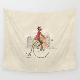 Old cycling Wall Tapestry