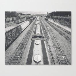 Interbay Rails Canvas Print
