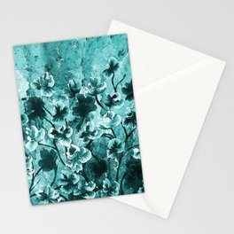 Dance Flowers Stationery Cards