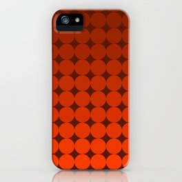 Redd Circles iPhone Case