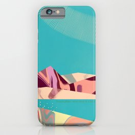 Martian Sunrise iPhone Case