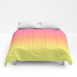 Bright Spring Gradient Comforters