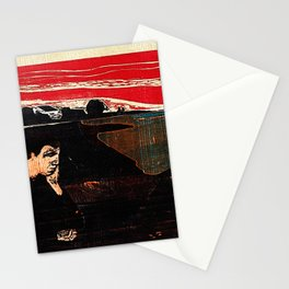 Evening. Melancholy. Stationery Cards