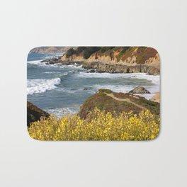 California Coast Overlook Bath Mat