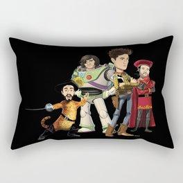 OPC Bastille Technicolor (black) Rectangular Pillow