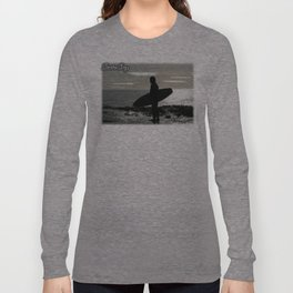on the edge of america Long Sleeve T-shirt
