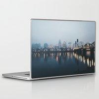 portland Laptop & iPad Skins featuring Portland II by Hannah Kemp