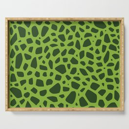 Cell Pattern Serving Tray