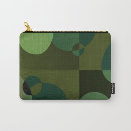 """""""Retro Green Super Dots"""" Carry-All Pouch"""