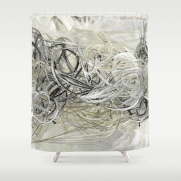 Shiver Shower Curtain