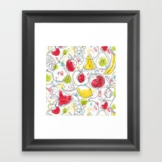 Fruitopia Framed Art Print