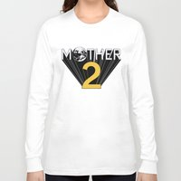 earthbound Long Sleeve T-shirts featuring Mother 2 / Earthbound Promo by Studio Momo╰༼ ಠ益ಠ ༽