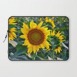 Sunflower Fields Forever - No. 1 Laptop Sleeve