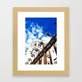 Sacré-Coeur Framed Art Print